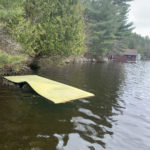 Lost & Found – Yellow & Blue Lily Pad AND A Dock